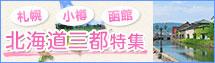 北海道三都(札幌・小樽・函館)ツアー・旅行