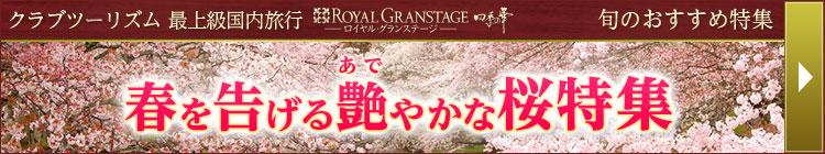 春を告げる艶やかな桜ツアー特集