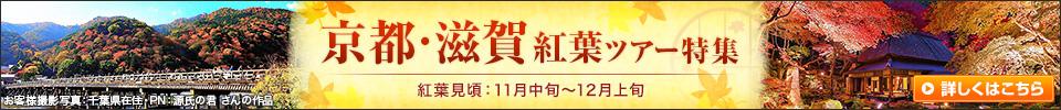 京都・滋賀紅葉ツアー・旅行