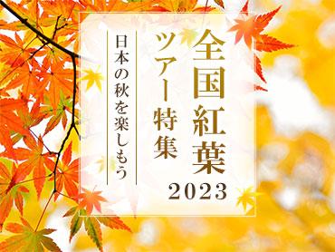 秋の紅葉ツアー・旅行2020