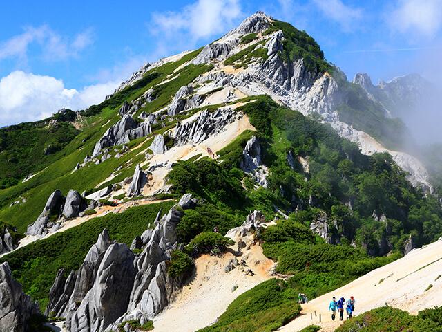 日本アルプス登山特集