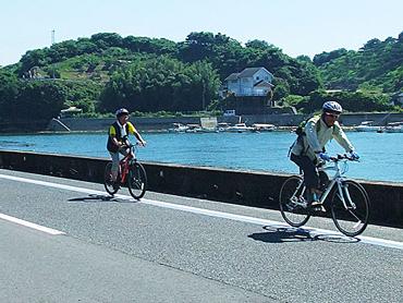 サイクリングの旅