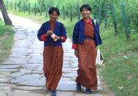 ブータンで暮らす人々(イメージ)