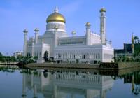 オマール・アリ・サイフディン・モスク(イメージ)
