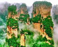袁家界自然保護区(イメージ)