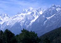 玉龍雪山(イメージ)